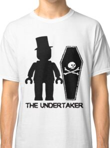 THE UNDERTAKER, by Customize My Minifig Classic T-Shirt