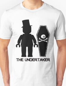 THE UNDERTAKER, by Customize My Minifig Unisex T-Shirt