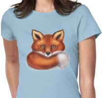 The Fox's Tail Womens Fitted T-Shirt