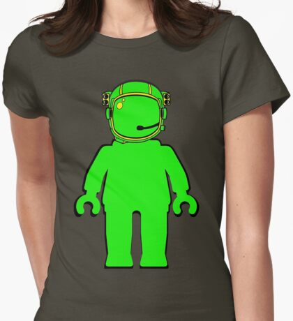 Banksy Astronaut Minifigure Womens Fitted T-Shirt