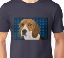 Beagle Staring Directly at You - Digital Paint Unisex T-Shirt