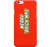 MERRY 'BRICK'MAS iPhone Case/Skin
