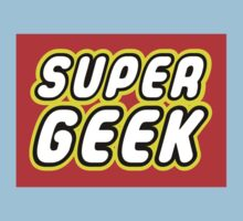 SUPER GEEK One Piece - Short Sleeve