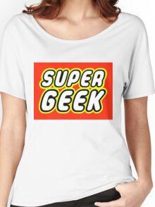 SUPER GEEK Women's Relaxed Fit T-Shirt
