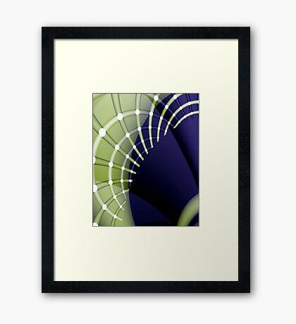 Fractal arches Framed Print