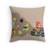 Mario Kart Item fury  Throw Pillow
