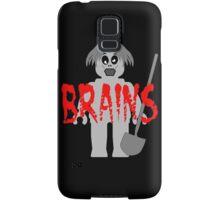"Zombie Minifig ""BRAINS"", by Customize My Minifig Samsung Galaxy Case/Skin"