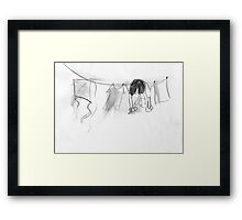 royal balet of layangan 4 Framed Print