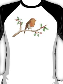Robin on Branch T-Shirt