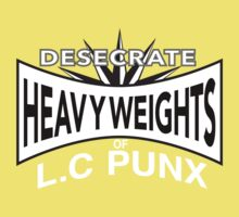 Desecrate - Heavy Wieghts Of L.C PUNX Kids Clothes