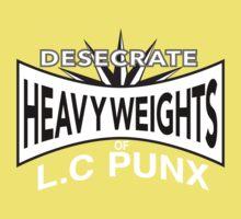 Desecrate - Heavy Wieghts Of L.C PUNX Baby Tee