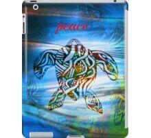 peace turtle aboriginal design iPad Case/Skin