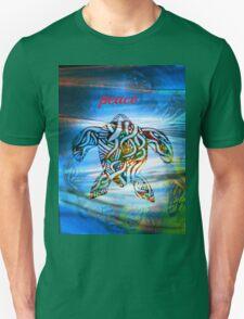 peace turtle aboriginal design T-Shirt