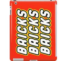 BRICKS BRICKS BRICKS, by Customize My Minifig iPad Case/Skin