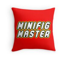 MINIFIG MASTER, by Customize My Minifig Throw Pillow