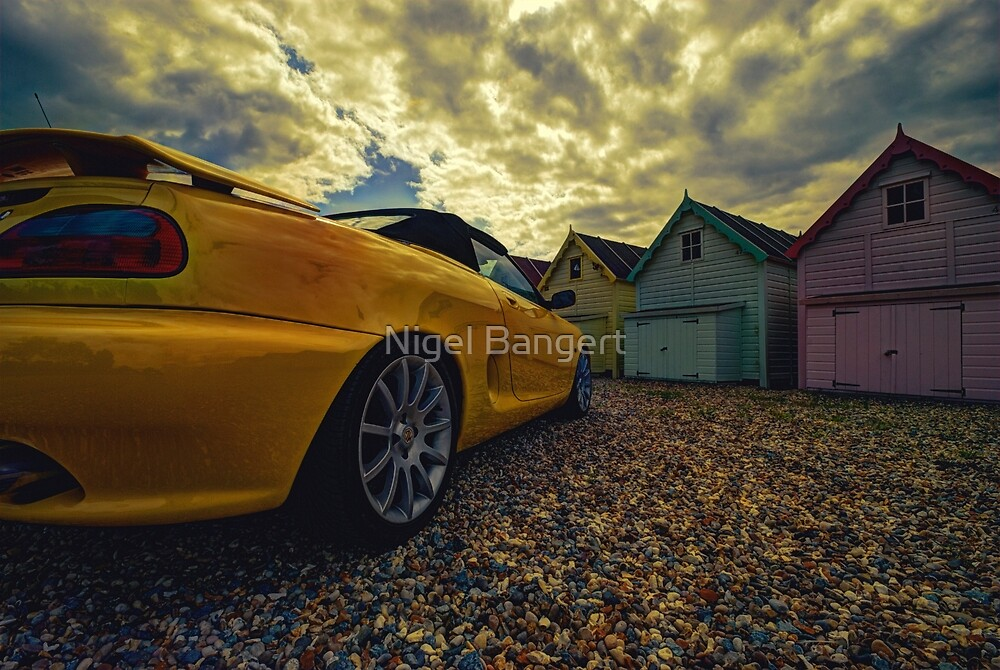 Day Out at Mersea by Nigel Bangert