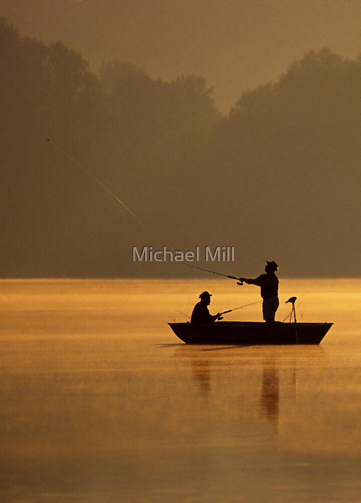 Casting For Fish by Michael Mill