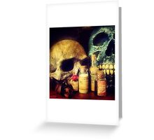 Skulls and Drugs Greeting Card