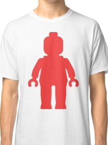 Minifig [Large Red] Classic T-Shirt
