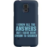 All the Answers Samsung Galaxy Case/Skin