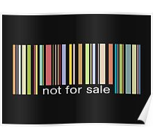 not for sale Poster