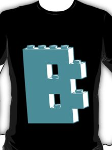 THE LETTER B, by Customize My Minifig T-Shirt