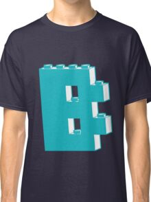 THE LETTER B, by Customize My Minifig Classic T-Shirt