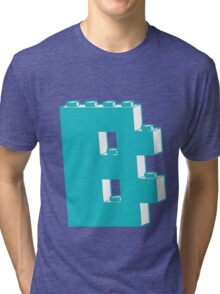 THE LETTER B, by Customize My Minifig Tri-blend T-Shirt