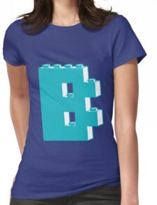 THE LETTER B, by Customize My Minifig Womens Fitted T-Shirt
