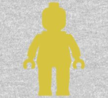 Minifig [Large Yellow] Kids Clothes