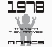 '1978 The Year They Arrived! Minifigs' by Customize My Minifig