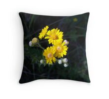 small and pretty Throw Pillow