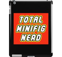 TOTAL MINIFIG NERD iPad Case/Skin