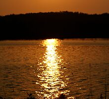 Long Lake Sunset 1 by Scott Ruhs