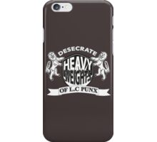 Desecrate -Royal Emblem  iPhone Case/Skin