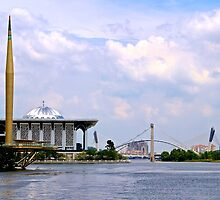 River of a Thousand Wonders - Putrajaya, Malaysia.  by Tiffany Lenoir