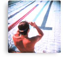 swim 2 Canvas Print