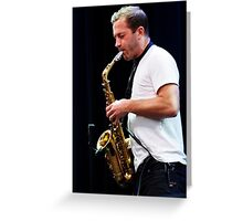 Colin Stetson Greeting Card