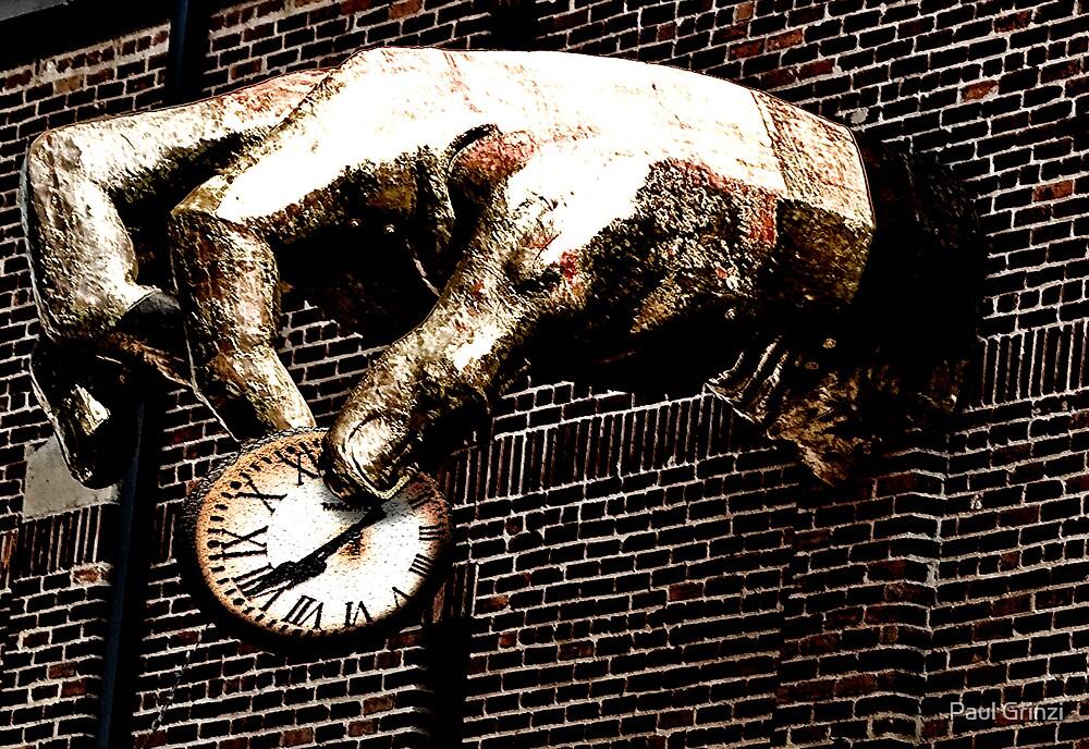 Pinching time by Paul Grinzi