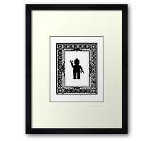 PARISIAN WAVE, by Customize My Minifig Framed Print