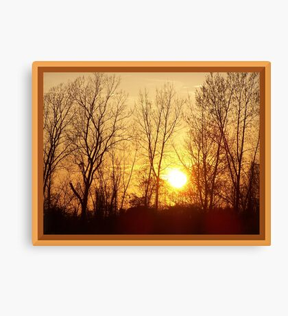 Warm Inner Glow Canvas Print