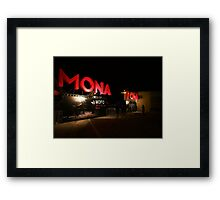 MONA FOMA 2014 2 Framed Print