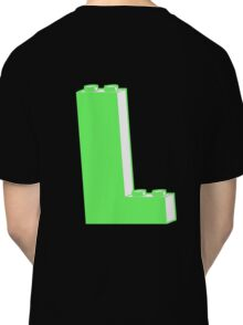 THE LETTER L  Customize My Minifig Classic T-Shirt