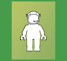 Banksy Style Astronaut Minifig  Customize My Minifig Kids Clothes