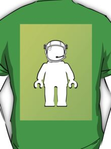 Banksy Style Astronaut Minifig  Customize My Minifig T-Shirt