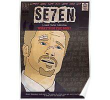 Se7en Comic Style Poster Poster