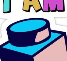 I Brick, Therefore I am Sticker