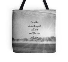 Les Miserables Sun Rise Tote Bag