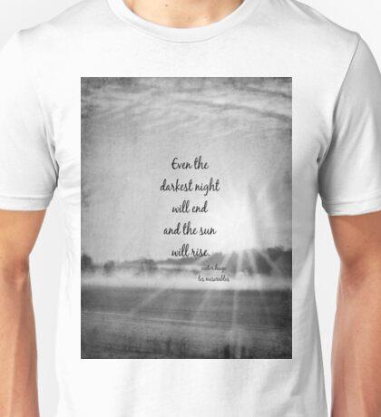 Les Miserables Sun Rise Unisex T-Shirt