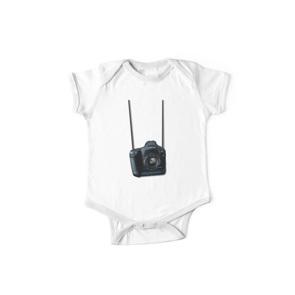 Camera shirt - for Canon users by Paul Grinzi